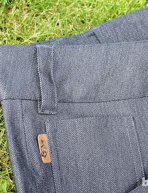 The Domain pants come in this black/cloudburst colour or denim blue