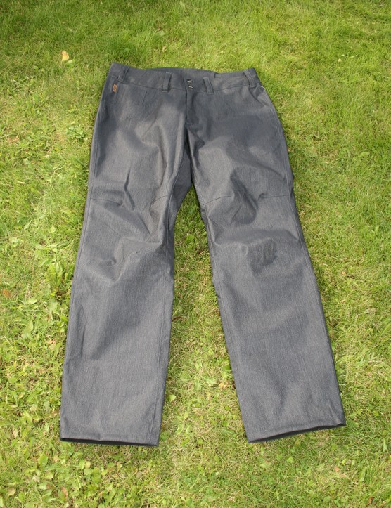 The Domain pants (£99.99) are new for 2013 and with their water-repellant fabric could be used on the trails or as commuting trousers
