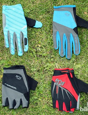 Royal are doing women's gloves and mitts for the first time in 2013. Here's the turquoise Tybyn (£24.99) at top-left, the electric blue Core (£19.99), the women's Thirty mitt (£18.99) in ceramic and men's Thirty mitt (£18.99) in red