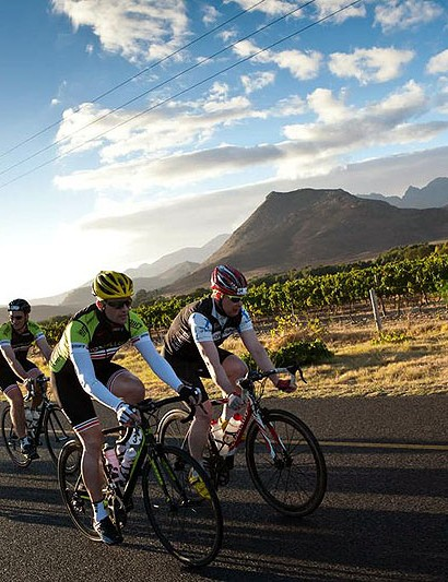 The Cape Rouleur takes place in the week leading up the Cape Argus, arguably the biggest sportive in the world