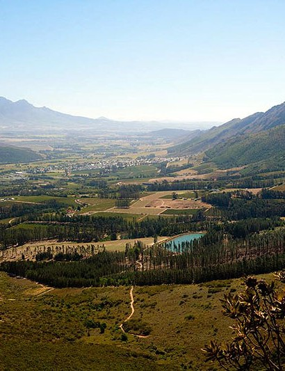 Franschhoek is the base during the Cape Rouleur