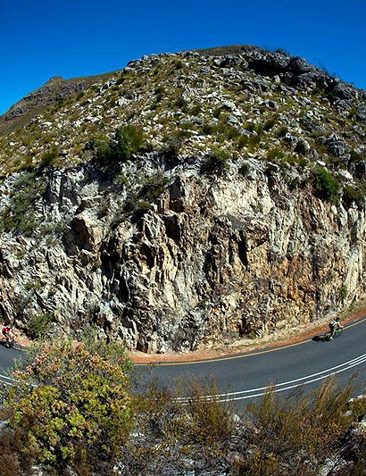 While not an overly mountainous region, the Cape Rouleur offers several Alpine style climbs of up to 8km