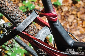 Select a carbon seatstay to match the rocker bridge, if you can afford it…