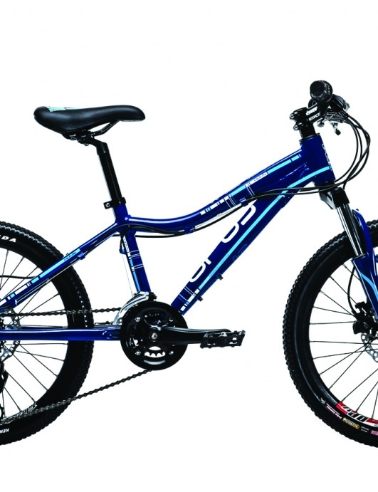 The 20-inch Thunder features hydraulic disc brakes