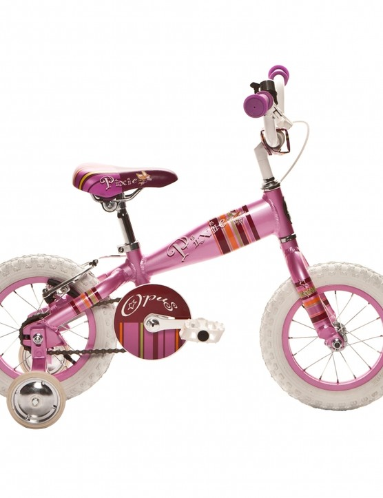 No down tube - but plenty of girly style - on the Pixie