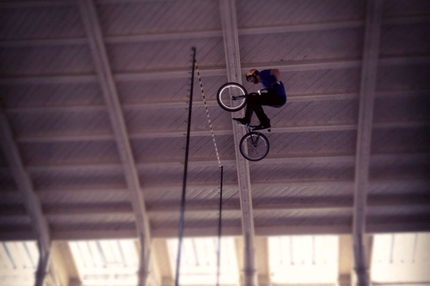 Kye Forte breaks the world record for BMX high jump. 6.4m!