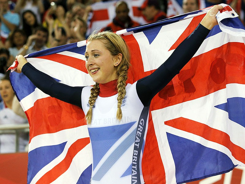 Laura Trott can look forward to funding up until the Rio 2016 Olympic Games