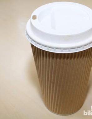 British Cycling's head of nutrition, Nigel Mitchell, advises cutting down on gut irritant caffeine