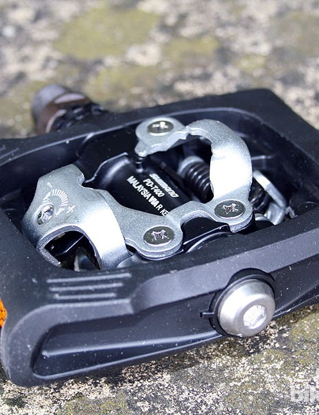Shimano's CLICK'R commuter pedal is meant to be easier to clip in and out of