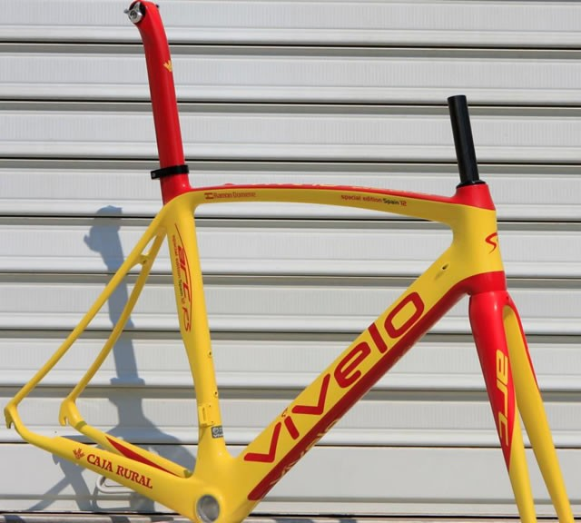 A Vivelo Arc RS in the Spanish colours of U23 national champion and Caja Rural rider Ramon Domene Reyes