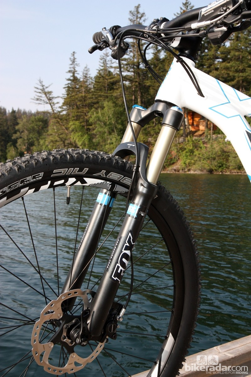 Our top-end Giant Trance X 29er 0 came equipped with Fox's latest CTD Adjust fork and rear shock