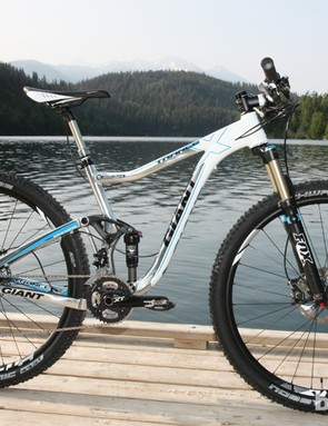 Giant's new 120mm-travel Trance X 29er 0 platform is impressively agile with its relatively short, 452mm chain stays - more than 10mm shorter than Giant's 100mm-travel Anthem X 29er