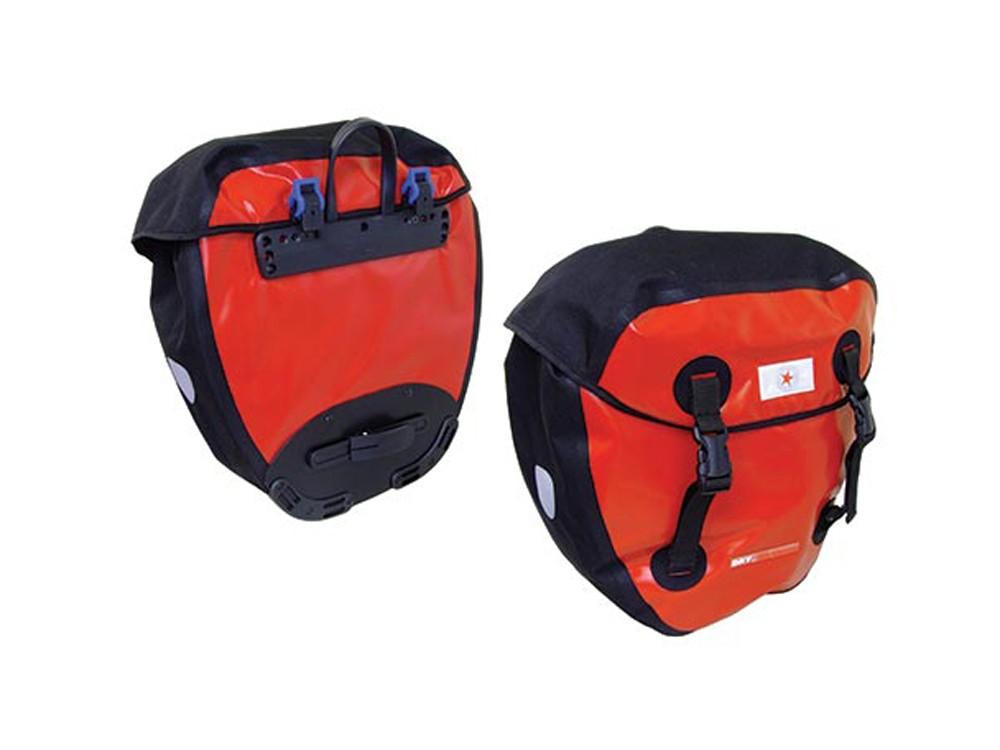 Revolution Adventure Welded pannier bags