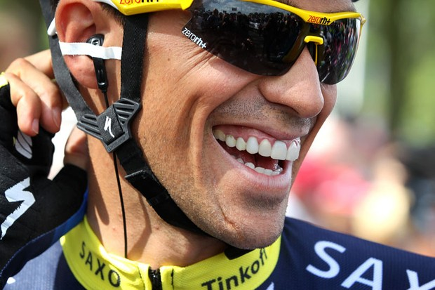 Back in the game: Alberto Contador is ready for the Vuelta