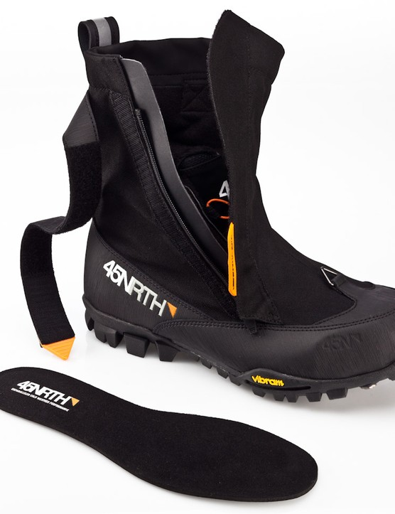 "In addition to Thinsulate, ""monster fur"" and synthetic fleece, the boot also features an aerogel insole to keep out the cold"