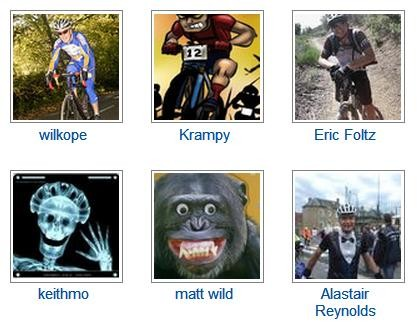 Matt Wild's humorous profile pic meant he won a spot prize