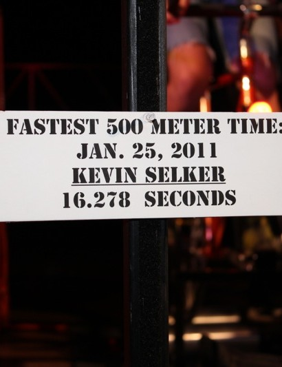 Bissell's Eric Young set a new best time of 15.885 seconds
