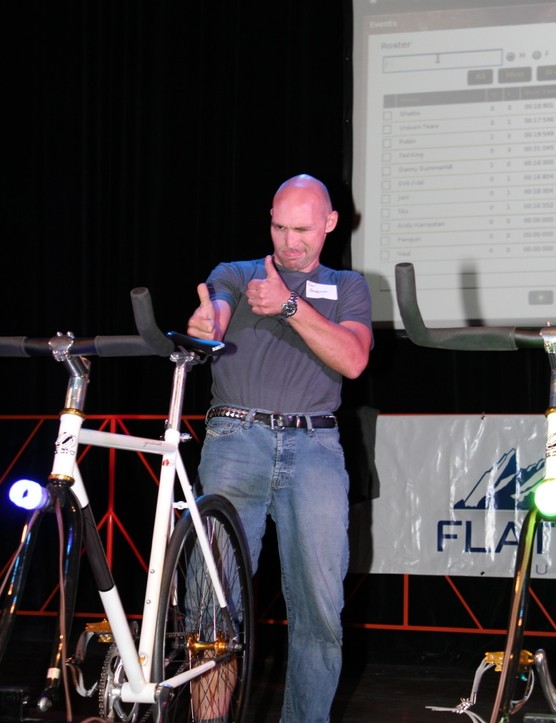 Cycling physiologist Neal Henderson is a real stickler for details