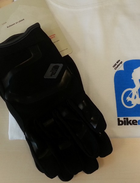 BikeRadar Training member Matt Wild has won a T-shirt and North Face Slant gloves as a spot prize