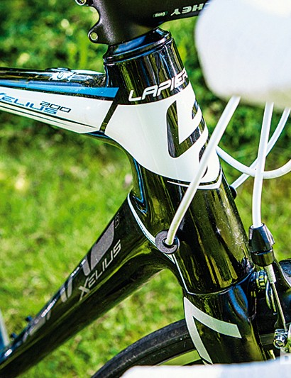 The Xelius is definitely a race bike when it comes to ride position and lightweight responsiveness
