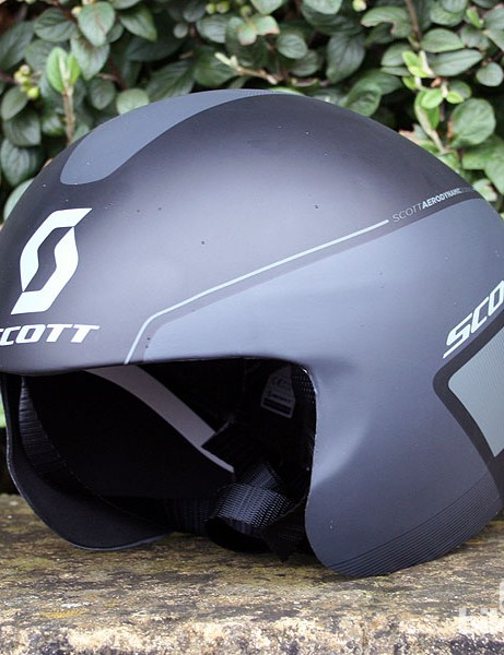 The helmet has spent more than two years in development, with hours of testing at the Australian Institute of Sport's wind tunnel