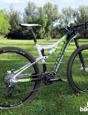 The Cannondale Scalpel 29'er Carbon 2 isn't especially plush but it's extraordinarily fast, efficient and stiff - the perfect tool for racing