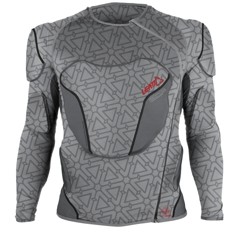 Leatt's new 3DF Body Protector, from the front