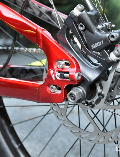 The P.Slope will come built as a singlespeed, but the dropouts can be swapped out to run a derailleur