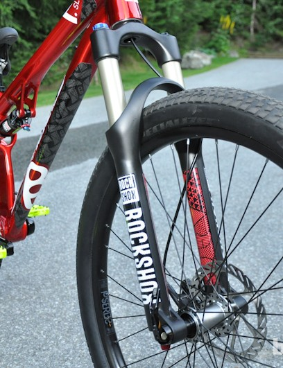 Rock Shox Argyle RCT provides 100mm of travel up front