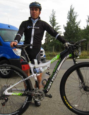 Former track cycling Olympian Colby Pearce can also hold his own on a mountain bike. He finished 20th at the Leadville 100 the day before the Breck Epic started, then raced near the front all week, finishing 16th in the men's open 6-day field
