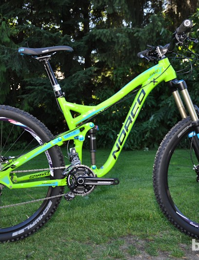 The 2013 Range is completely revamped, and is only available with 650B wheels