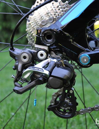 Shimano Saint group comes stock on the Aurum 1