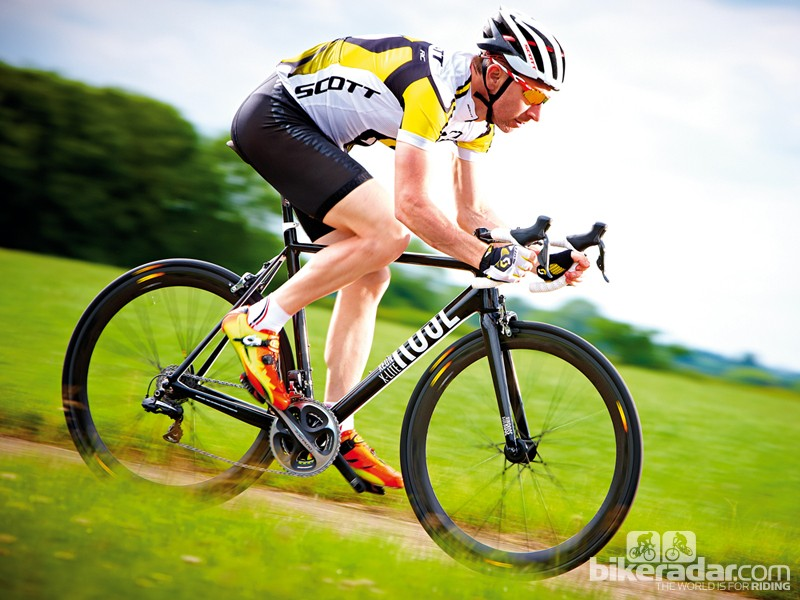 The Xeon frame delivers impressive performance, whether climbing, sprinting or cornering
