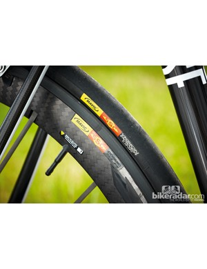 Mavic supply quality wheels and tyres – and the Exalith braking surface works too