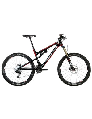 The second-tier Rocky Mountain Altitude 770 MSL will come with a full carbon frame, a Shimano Deore XT 2x10 transmission and yes, 27.5
