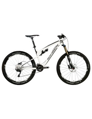 The standard Altitude 750 comes with an all-aluminum frame