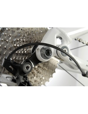 Shimano equipped models get direct mount-style rear derailleur hangers