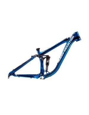Rocky Mountain has also released a new Slayer SS frame for slopestyle. Rear-wheel travel is limited to a stiff 100mm and the aluminum tubeset is borrowed from the standard Slayer