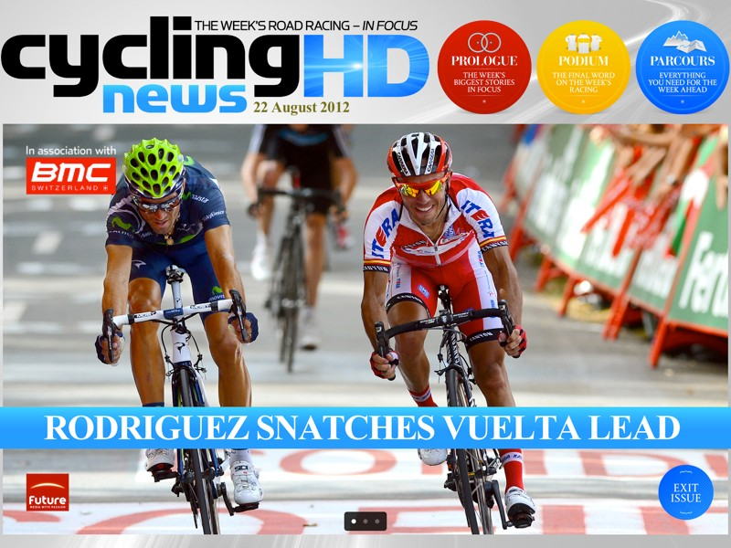 Cycling News HD brings you inside analysis and beautiful, full-screen race imagery every Wednesday
