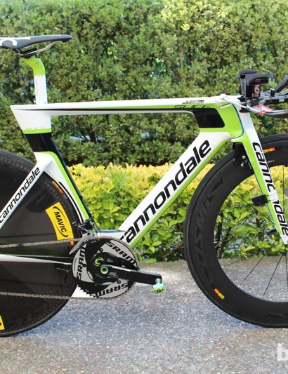 Vincenzo Nibali's Cannondale Slice RS