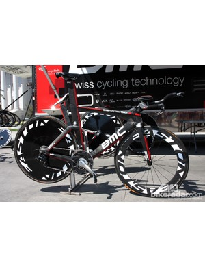 Taylor Phinney's (BMC) BMC TimeMachine TM01 time trial bike