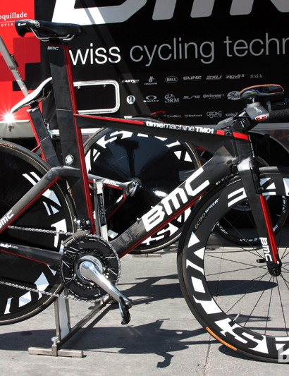 Taylor Phinney's (BMC) BMC TimeMachine TM01 time trial bike