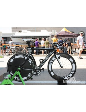 Optum Pro Cycling's stealthy Orbea Ordu time trial bike