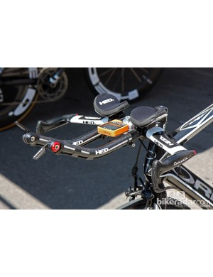 HED integrated time trial bars for Optum Pro Cycling's Orbea Ordu time trial bikes