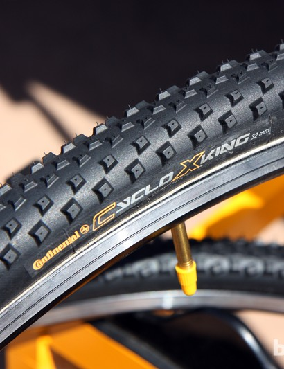 Continental will finally offer a production cyclocross tubular called CycloXKing, using a fast rolling but versatile tread design derived from the X-King mountain bike tire
