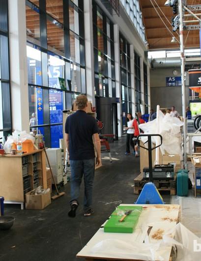 Eurobike 2012 is still very much a work in progress