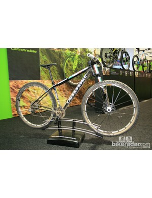 The Cannondale bike Italian Marco Fontana rode to a bronze medal at the Olympics earlier this month