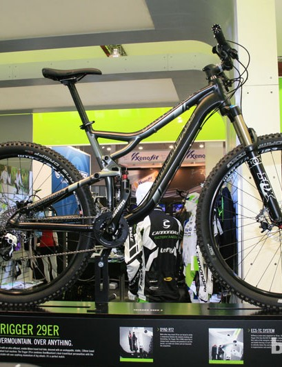 The new Cannondale Trigger, unveiled in June, also comes in this 29er version