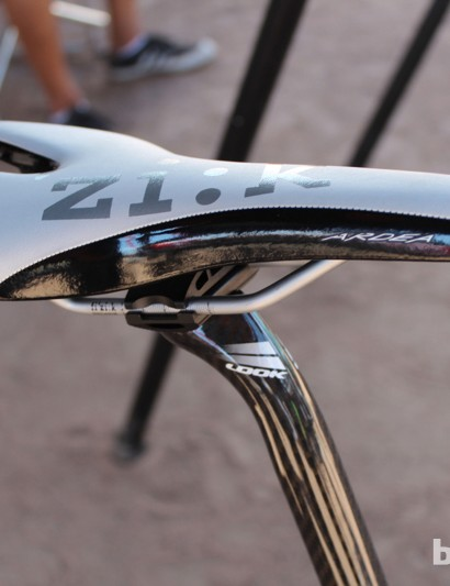 The forthcoming Ardea saddle from fi'zi:k. Stay tuned to BikeRadar from more from the saddle maker