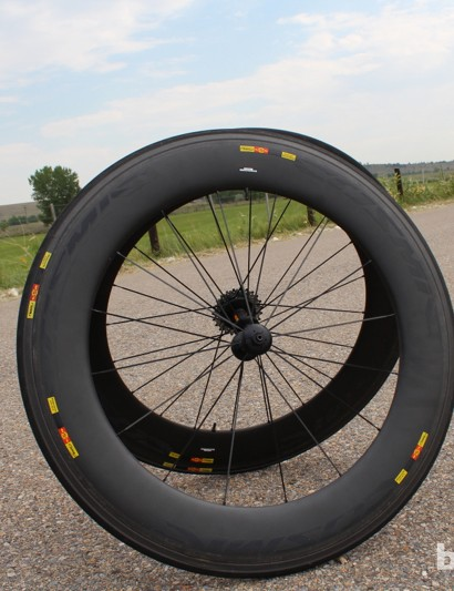 The big news for Mavic in 2013 is the all-new CXR 80